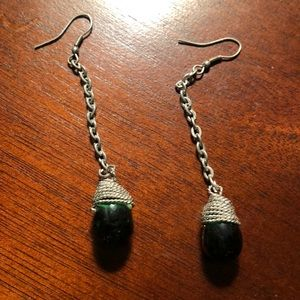Gorgeous dangle earrings! EUC!